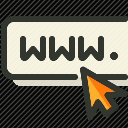 address, domain, url, web icon