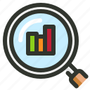 analysis, analytics, data icon