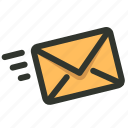 contact, email, fast, us icon