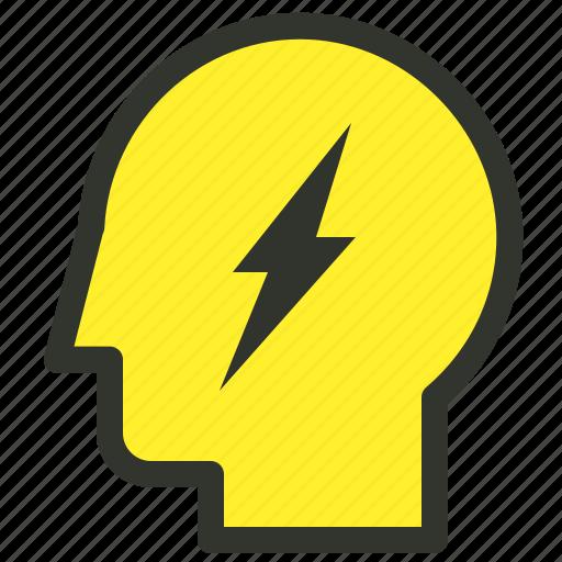 brainstorm, creative, creativity, idea icon
