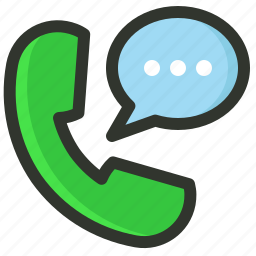 chat, customer, phone, support icon