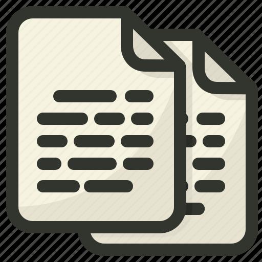 articles, blog, content, documentation icon