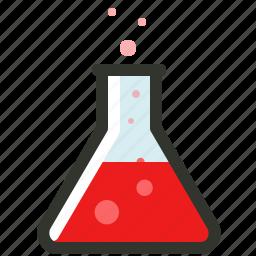 experiment, investigate, research, test icon
