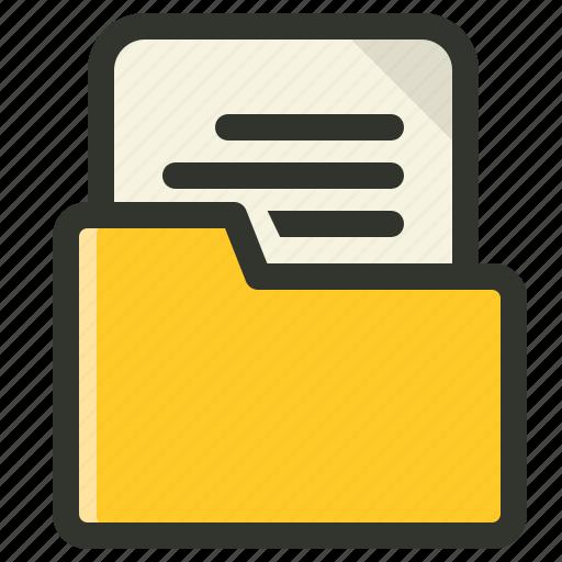 document, documentation, folder, project icon