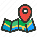 local, location, map, seo icon