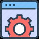 optimization, seo, service, settings, web, website