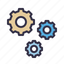 cogwheels, configuration, gear, optimization, seo, setting, tool icon