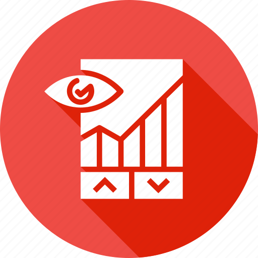 analysis, chart, down, graph, performance, report, up icon