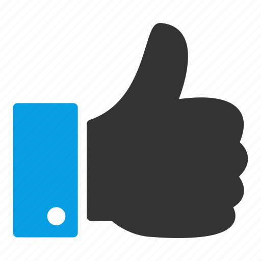 approval, hand, like, social, thumb up icon