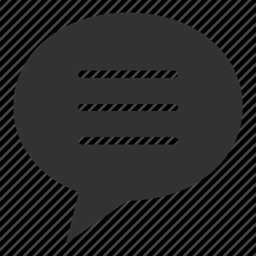 chat bubble, communication, conversation, dialogue, social, talk icon