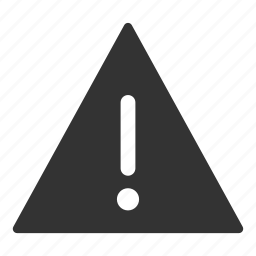 caution, danger, exclamation, mark, risk, triangle icon