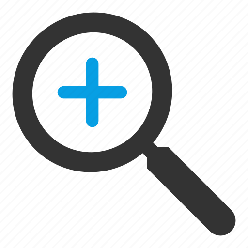 add, find, glass, magnifying, search, searching icon