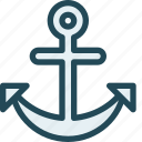 anchor, anchor link, anchor text, connection, marine, marketing, seo icon