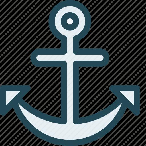anchor, anchor link, anchor text, connection, marine, marketing, seo icon