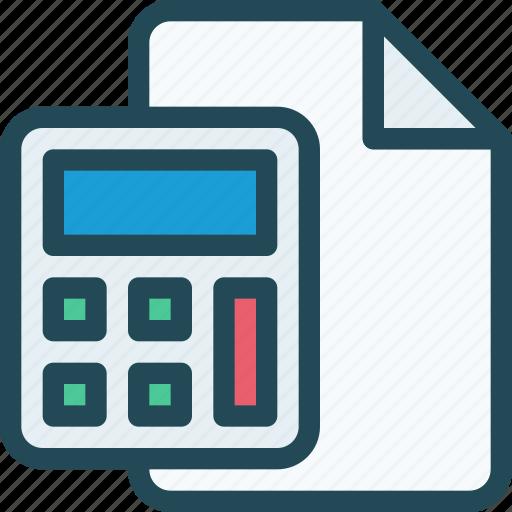Banking, budget, calc, calculation, calculator, estimates, math icon - Download on Iconfinder