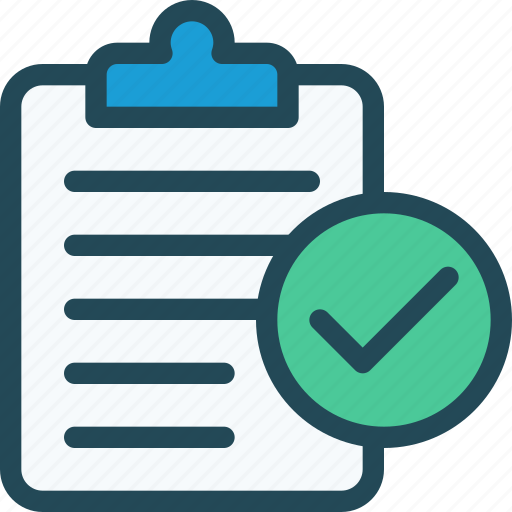 audit, checkmark, done, list, success, tasks, todo icon