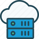 cloud, computing, database, hosting, server, storage, vps icon
