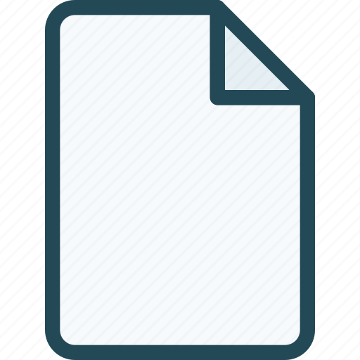 document, extension, file, format, page, paper, sheet icon