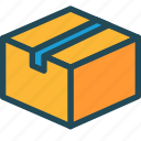 box, bundle, delivery, package, product, service, shipment icon