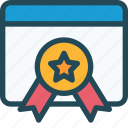 quality, favorite, authority, award, excellent, badge, page