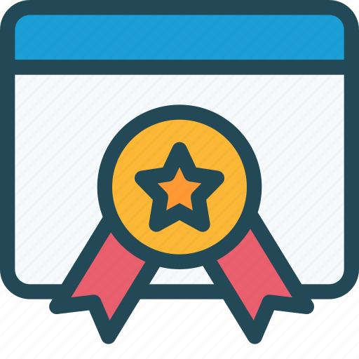 authority, award, badge, excellent, favorite, page, quality icon