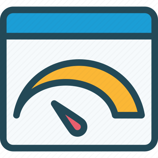 browser, connection, dashboard, page, page speed, productivity, speed icon