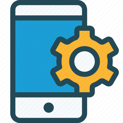 configuration, help, mobile, options, phone, preferences icon