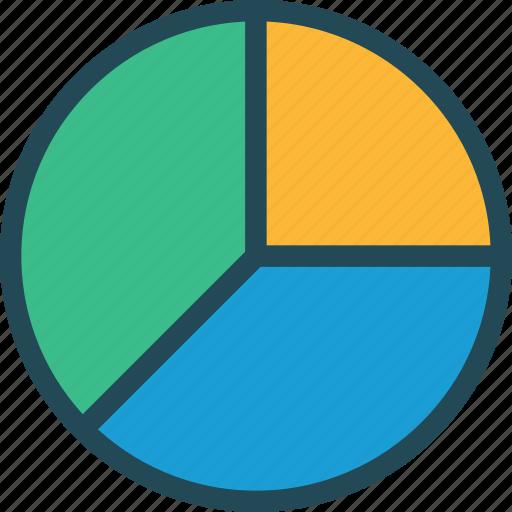 analytics, chart, competitive, diagram, pie, report, statistics icon