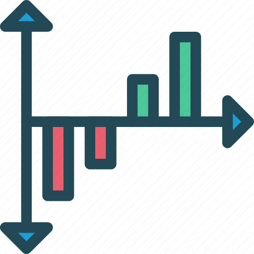 analytics, growth, income, monitoring, profit, progress, return of investment icon