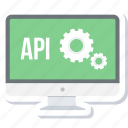 api, code, coding, development, program, programming, setting icon