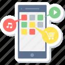 application, app, apps, folder, mobile, mobile app, services