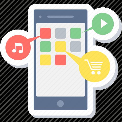 Application, app, apps, folder, mobile, mobile app, services icon - Download on Iconfinder
