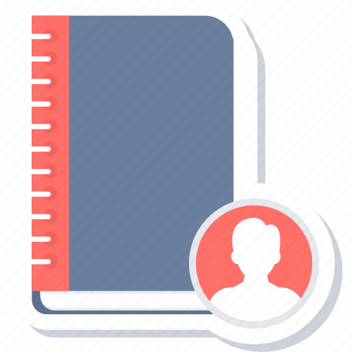 Contacts, address, book, contact, phone icon - Download on Iconfinder