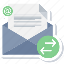 document, email, envelope, inbox, letter, mail, message icon