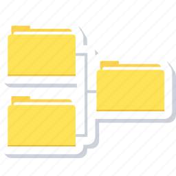 data, extension, file, folder icon