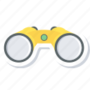 binocular, find, look, view icon