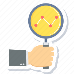bar, growth, progress, report icon