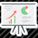analysis, chart, diagram, graph, presentation, report icon