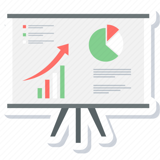 Graph, report, analysis, chart, diagram, presentation icon - Download on Iconfinder