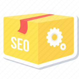 marketing, package, seo icon