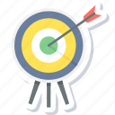 aim, dartboard, focus, goal, shooting, target, targeting icon