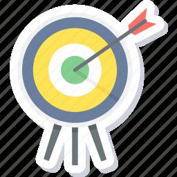 aim, dartboard, focus, goal, shooting, target, targeting icon
