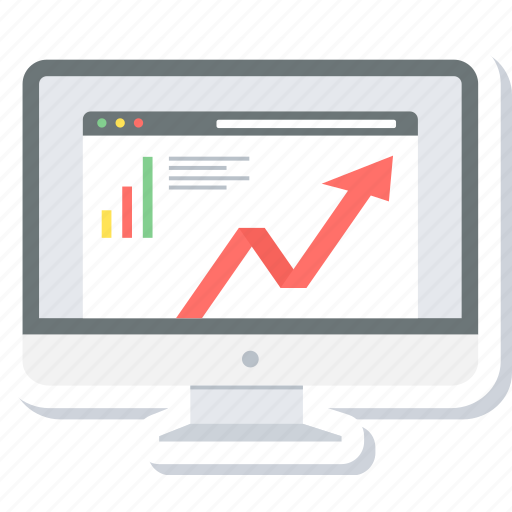 analysis, chart, graph, progress, report, statistics, web icon