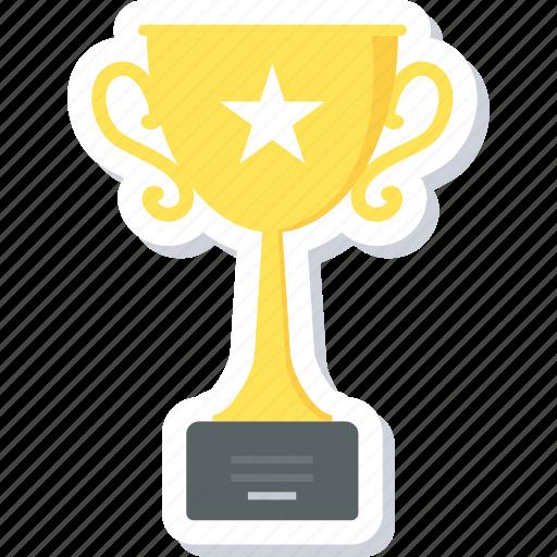 award, cup, trophy, win, winner icon