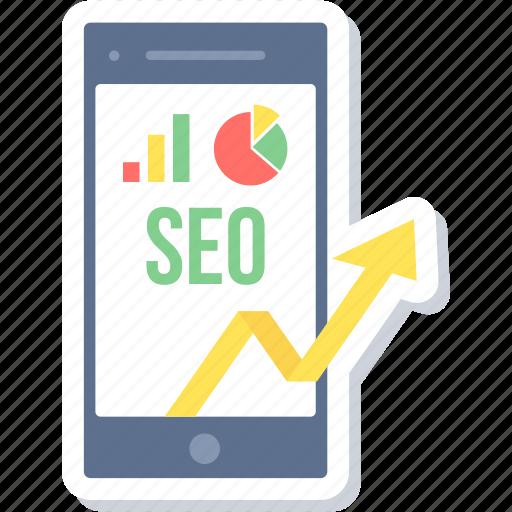advertisement, marketing, progress, promotion, reports, seo icon