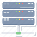 computing, data, hosting, server, storage icon