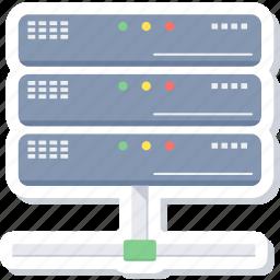 computing, data, hosting, server, storage icon