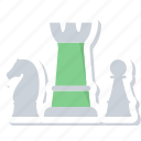 chess, game, gaming, management, planning, strategy icon