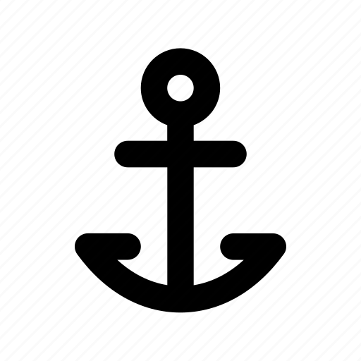 Anchor, boat anchor, nautical, navigational, ship anchor icon - Download on Iconfinder