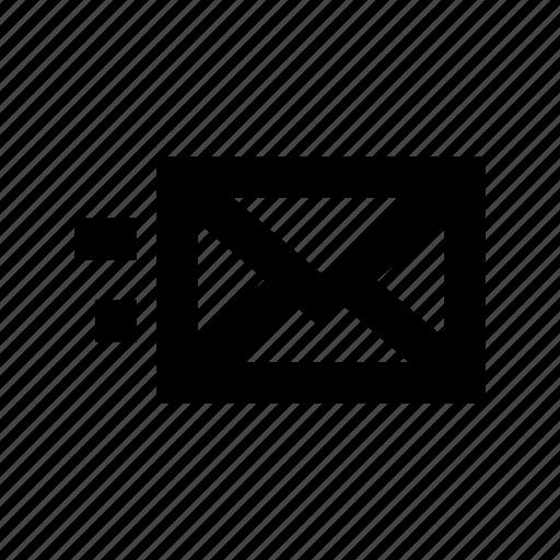 email, mail, sending email, sending mail, sent email icon